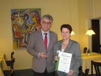 Umweltbewusstes Hotel. Das City Partner Hotel Berliner Hof in Karlsruhe erhält DEHOGA Umweltcheck in Gold!
