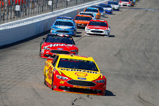 Penske Racing - Loudon Race Report #NASCAR  Joey Logano