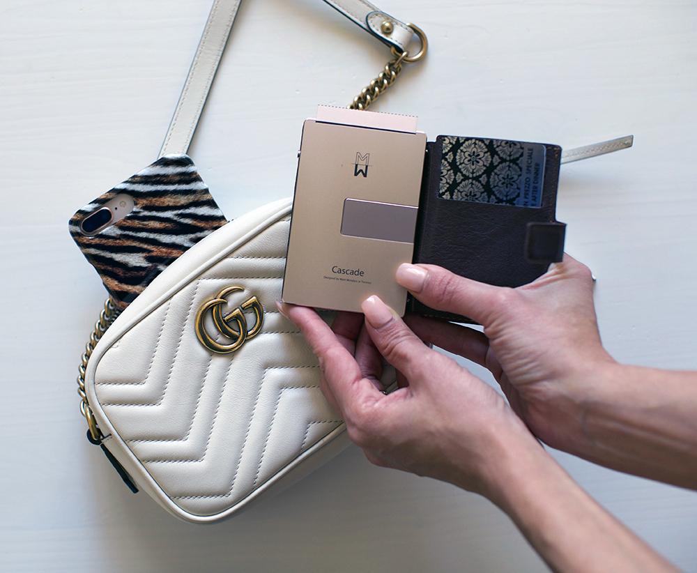 portafoglio cascade wallet