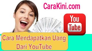 , Cara Menghasilkan Uang Dari Youtube, Cara Kini