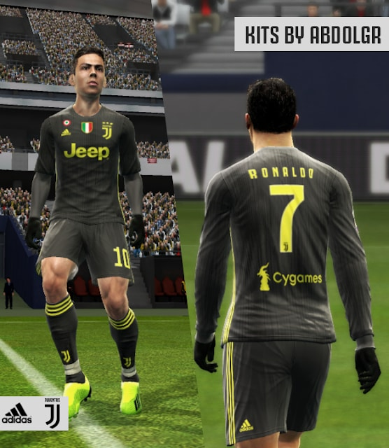 Juventus 2018/19 Third kit For PES 2013