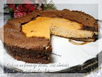 Gâteau au fromage blanc aux abricots et au chocolat