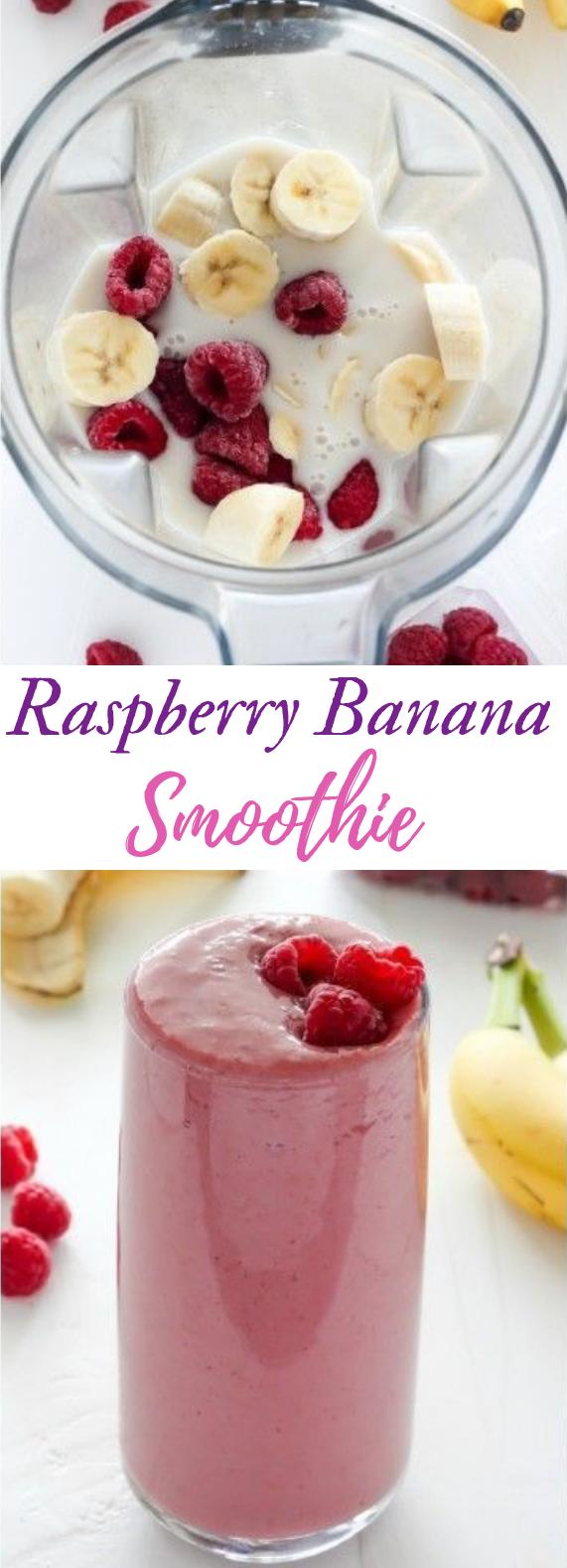 Raspberry Banana Smoothie #rasberry #drinksmoothie