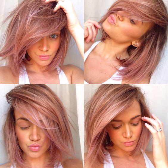 Rose Gold Hair Color Aboutwomanbeauty Com