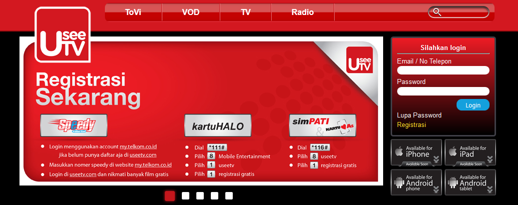 aplikasi useetv untuk symbian