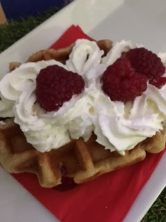 waffles at Shrek's Adventure! London