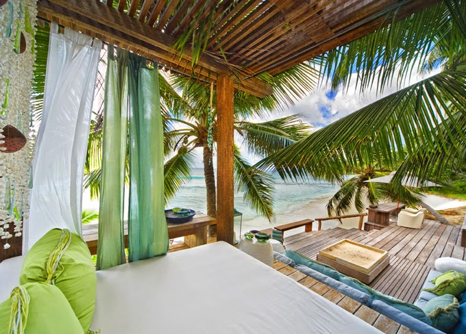 House of Turquoise North Island Seychelles