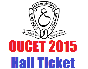 OUCET Hall Ticket 2016 Download Now