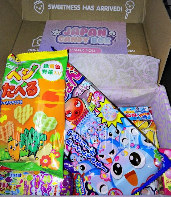 September Japan Candy Box Review + GIVEAWAY MakeUp Fun