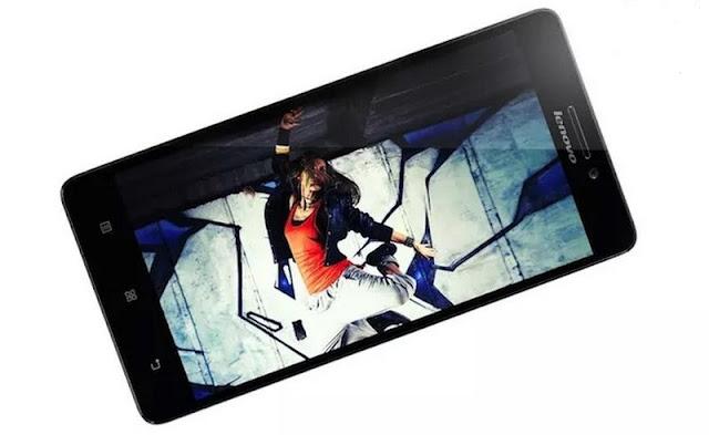 Tampilan hasil foto Lenovo a6010
