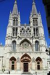 Fachada de la catedral de Santa María de Burgos