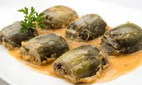 Alcachofas Cocidas en Salsa