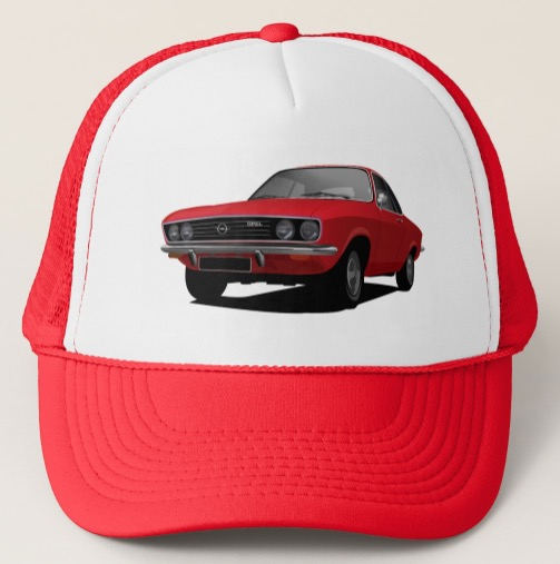Opel Manta A trucker hats