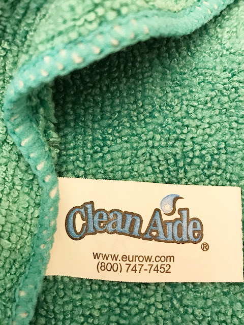 clean aide microfiber cloths