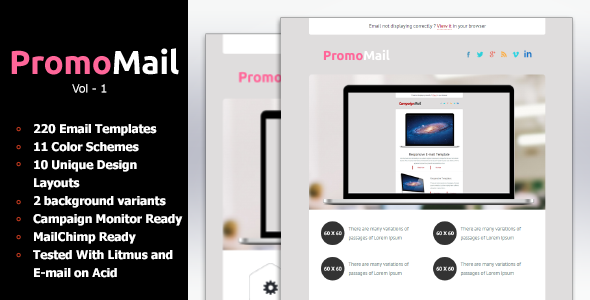 Responsive Business Newsletter Template