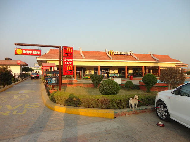 McDonalds at Mathura refinery