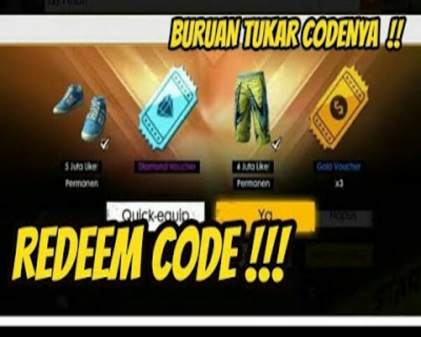 Kode Redeem Free Fire Terbaru 2019 - M4kix Free Fire - MhanxUs