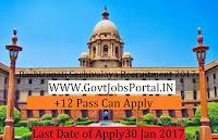 Rashtrapati Sachivalaya Recruitment 2017 – President's Secretariat – 66 Post
