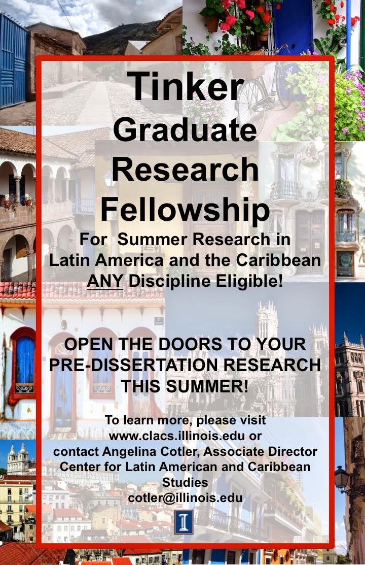 Summer dissertation fellowship