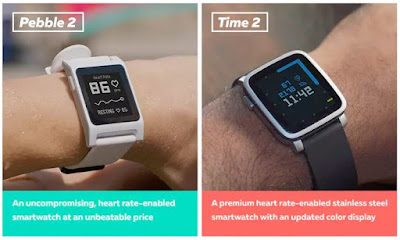 Nuevos smartwatches de Pebble
