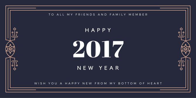 Happy New Year 2017 Wishes, Quotes, SMS