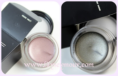 Mac Frozen Violet  and Antiqued Diamond Pro-Longwear Paintpots