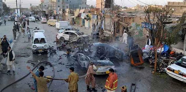 खैबर पख्तूनख्वा पाकिस्तान में धमाका