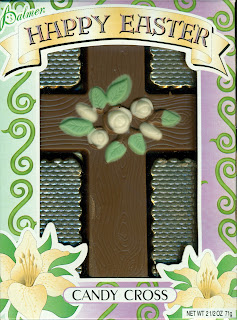 happy easter chocolate candy cross