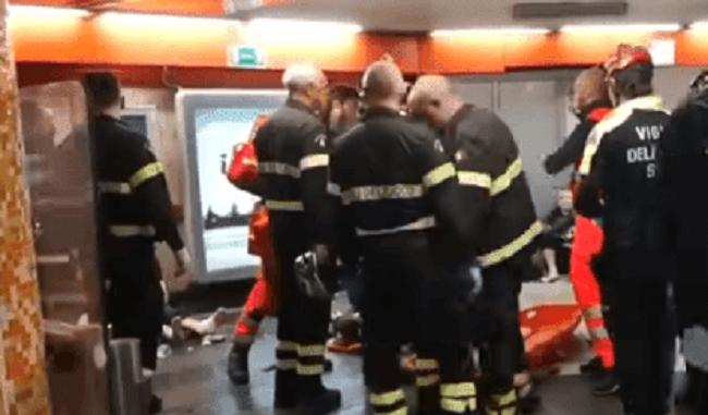Ρώμη: 20 τραυματίες από κατάρρευση κυλιόμενης σκάλας σε σταθμό του μετρό (video)