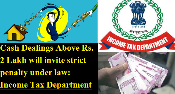 income-tax-department-warns-against-cash-dealings-above-2-lakh-paramnews