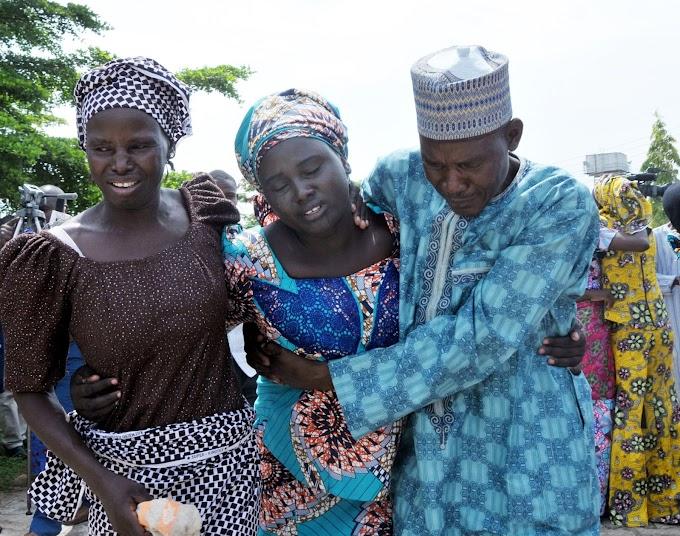 Chibok girls: 82 reunited with families in Nigeria