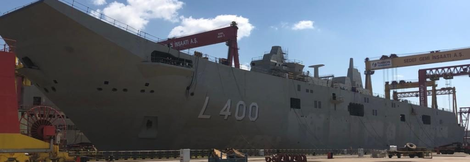 ВМС Туреччини цього року отримають легкий авіаносець