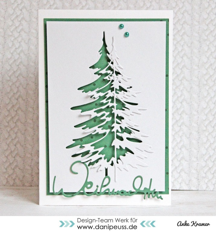 danipeuss.de :: BLOG: Weihnachtskarten-Sketchwoche   Sketch #1
