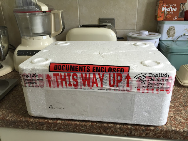 English Cheesecake Company packaging