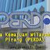 Jawatan Kosong Kerajaan di Lembaga Kemajuan Wilayah Pulau Pinang (PERDA) - 26 Jun 2018