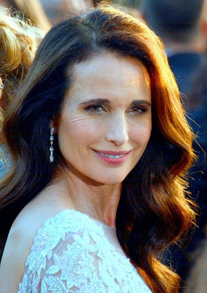 Andie MacDowell (American actress and fashion model)