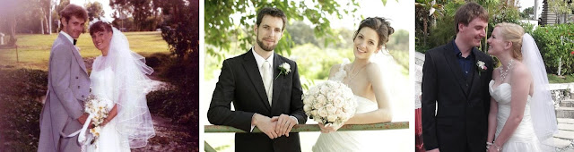 three weddings - ours, our son's and our daughter's