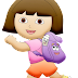 Dora the Explorer Clip Art.