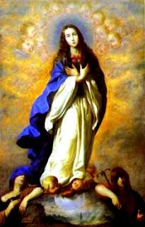 Imagen de la Inmaculada Concepción de cuerpo entero