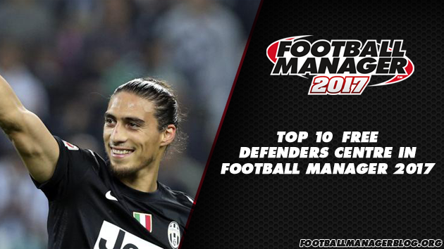 Top 10 Free Defenders Centre in Football Manager 2017