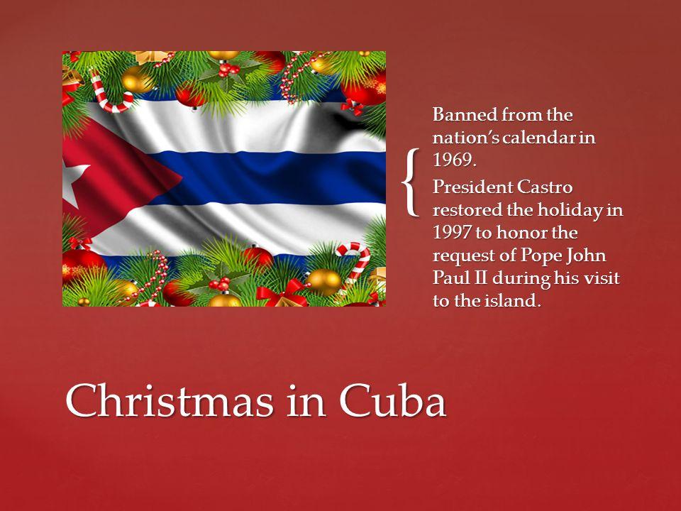 Christmas In Cuba.Cubaninsider Christmas In Cuba 2017