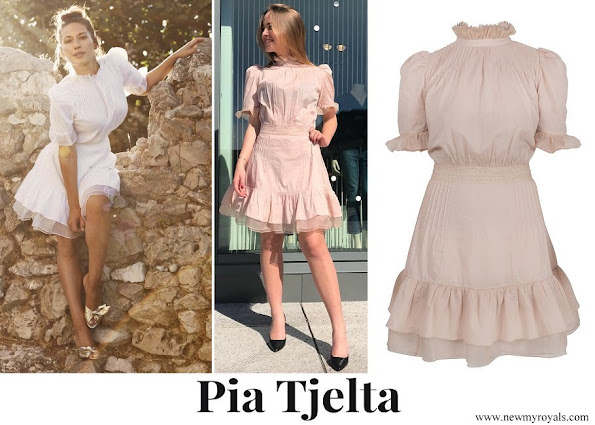 Crown Princess Mette-Marit wore Pia Tjelta Amelia Dress