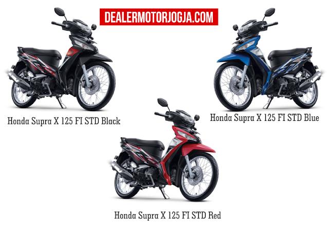 Promo Akhir Tahun Cash - Kredit Honda New Supra X 125 FI STD Desember 2016 Jogja