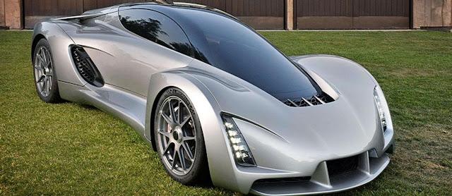 3D Printer Supercar Ini Diklaim Sebagai Mobil Tercepat Sejagad Raya