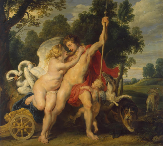 Rubens' Venus and Adonis
