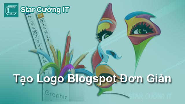 Hướng Dẫn Làm Logo Đơn Giản Cho Blogger
