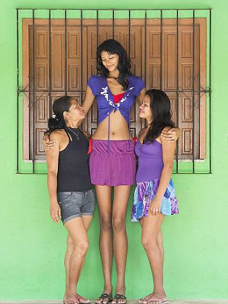 Tallest teen girl