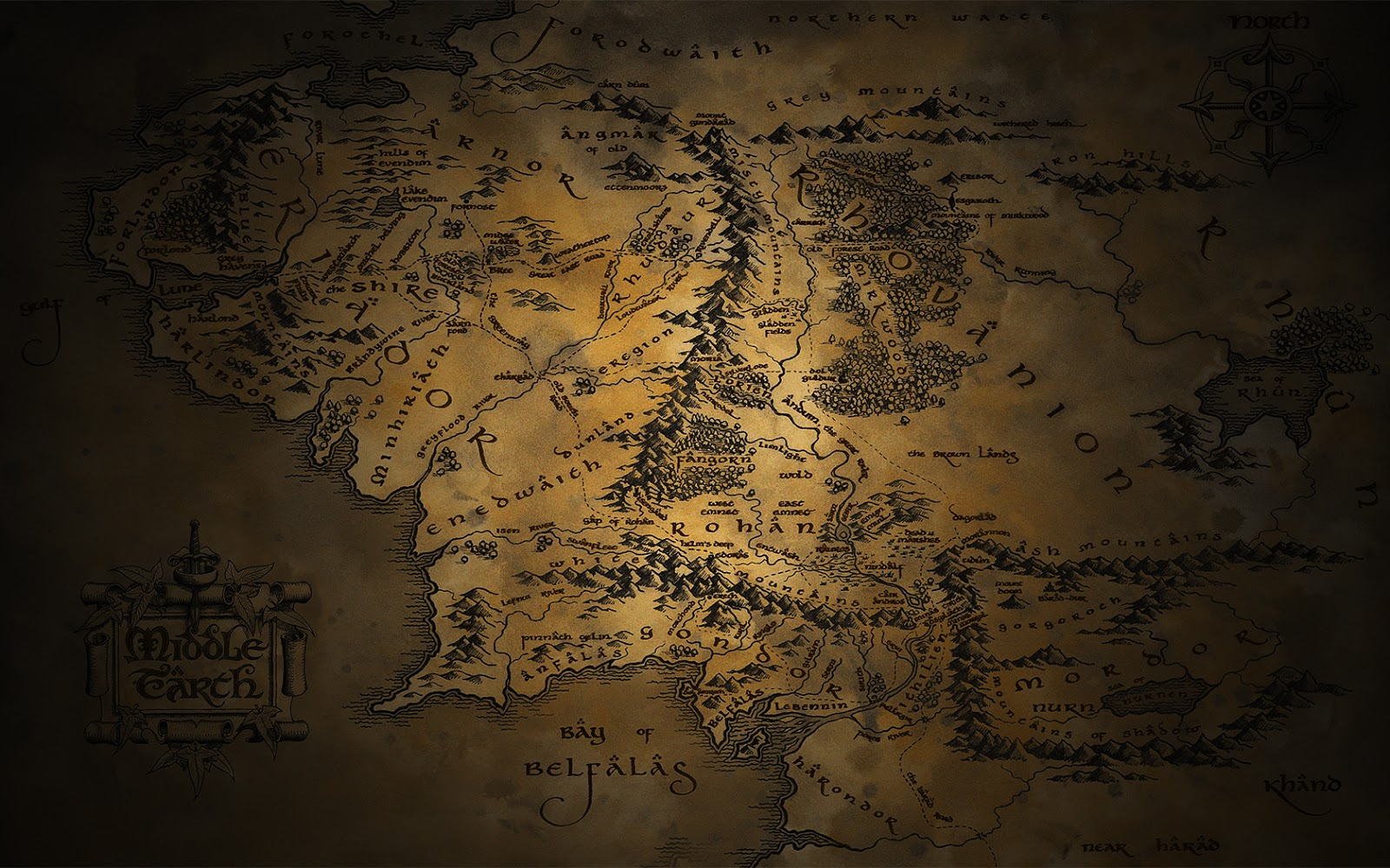 Middle Earth Wallpapers
