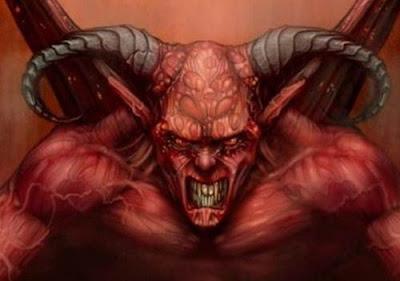Foto Setan Bergerak
