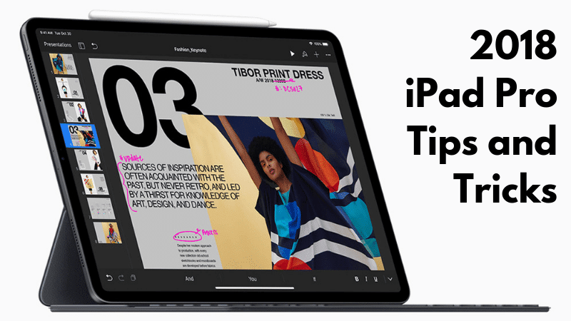 The 25 Best iPad Pro (2018) Tips and Tricks